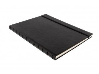 FiloFAX Notebook Classic,krúžk. pozn.blok s vymeniteľ.listami, A4,čierny