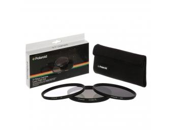 Polaroid filter 58mm (UV MC, CPL, ND9) set