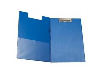 Písacia podložka s klipom A4 modrá