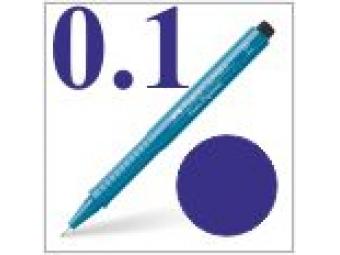 Faber-Castell pero technické Ecco pigment 0,1mm modré