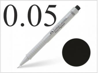 Faber-Castell pero technické Ecco pigment 0,05mm čierne