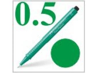 Faber-Castell pero technické Ecco pigment 0,5mm zelené