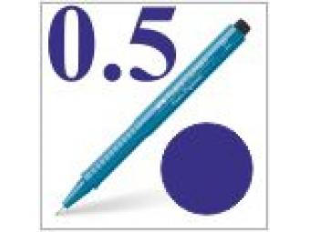 Faber-Castell pero technické Ecco pigment 0,5mm modré