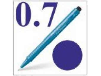 Faber-Castell pero technické Ecco pigment 0,7mm modré