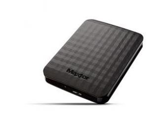 "Maxtor 1TB 2.5"" M3 Carbon Black Portable HDD USB 3.0"