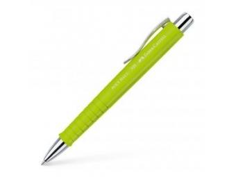 Faber Castell Poly Ball XB guličkové pero 1mm,limetkové