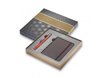 Parker URBAN Premium Big Red plniace pero + zápisník