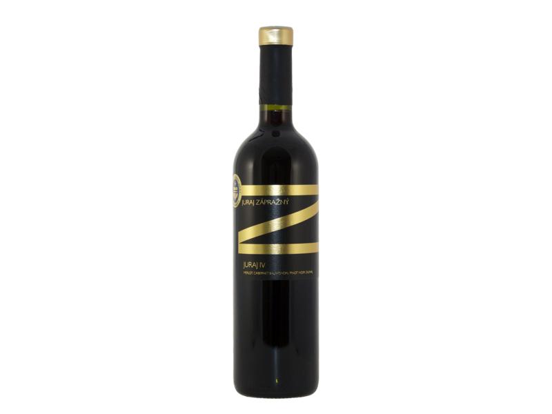 Víno červené Juraj IV. 2015 - Zápražný