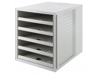 HAN Systém box Cabinet KARMA eko-sivá