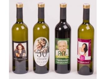 Víno s fotografiou