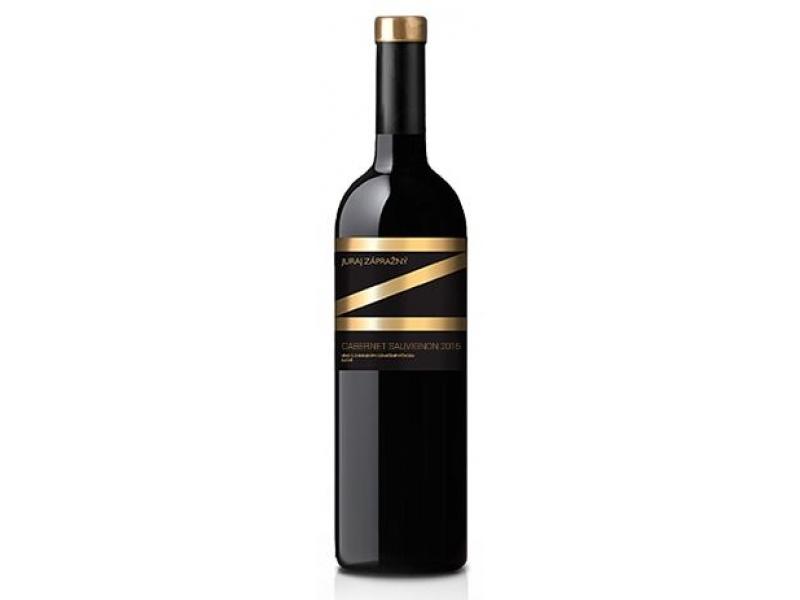 Víno červené Cabernet Sauvignon 2015 - Zápražný