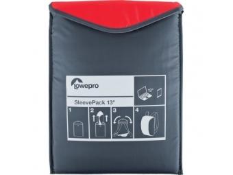 Lowepro púzdro SleevePack 13 červené/šedé