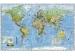 Mapa 145x100cm Svet politický s vlajkami štátov 1:28,5mil.