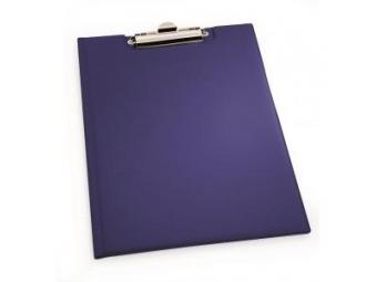 Durable Podložka písacia s klipom modrá