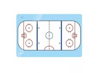 Accents tabuľa magnetická 90x120 cm, ľadová plocha