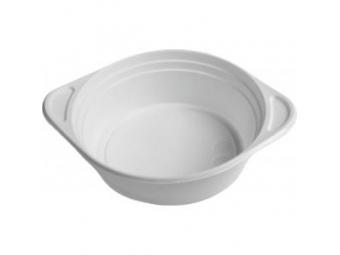 Taniere plastové na polievku biele (bal=100ks)