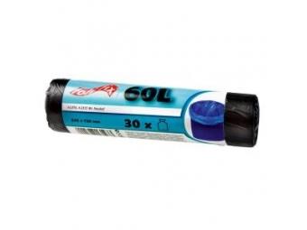 Folifix Vrecia na odpad 10mic 60l,550x710mm,čierne (bal=30ks)