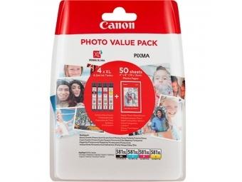 Canon CLI-581 Atramentová náplň C/M/Y/BK XL multipack
