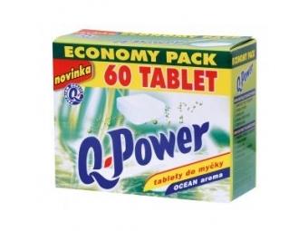 Q-Power Economy tablety do umývačky riadu Ocean (bal=60ks)