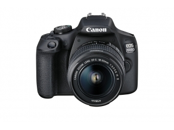 Canon EOS 2000D + 18-55 IS II + 75-300 III