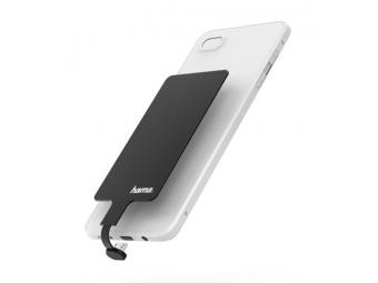 Hama prijímač indukčného nabíjania, pre mobily, micro USB, 800 mA