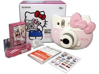 Fujifilm Instax HELLO KITTY SET (aparát, film, popruh, nálepky)