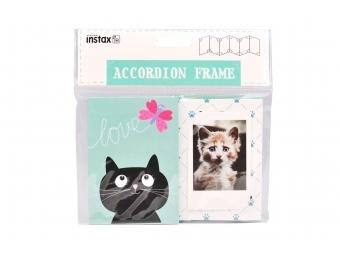 Fujifilm Instax akordeónový rámik - Mačka