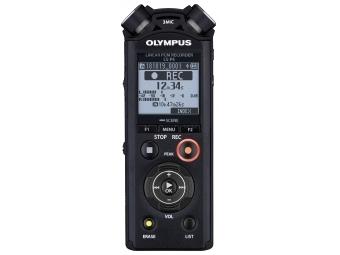 Olympus LS-P4 - Digitálny záznamník + nabíjateľná batéria Ni-MH a adapt. na upevnenie na statív