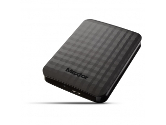 "Maxtor 500GB 2.5"" M3 Portable External HDD SuperSpeed USB 3.0 čierny"
