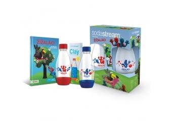 SodaStream detská sada pre deti Žížaláci ( 2xflaša + darčeky)