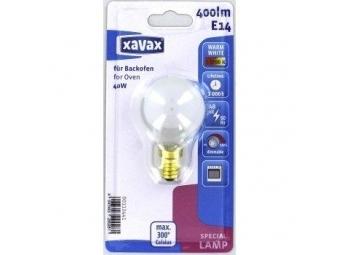 Xavax 112441 žiarovka žiaruvzdorná do 300°C, E14, 40 W, kvapkovitá, matná