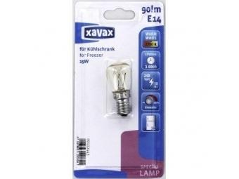 Xavax 112443 žiarovka pre chladiace zariadenia, 15 W, E14, hruškovitá, číra