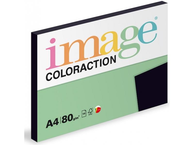 3351f7c4e Farebný papier A4/80g Black čierny (bal=100 hár) | Papiere & Médiá ...