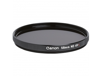 Canon filter ND 4X-L 58 mm