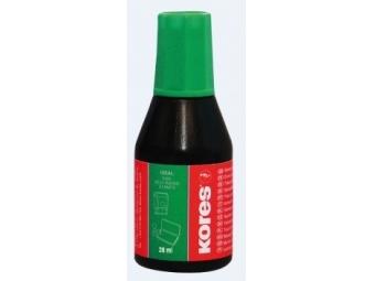 Kores farba pečiatková zelená 28ml