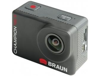 Braun Champion outdoorová videokamera 4K II, WiFi, s vodotesným puzdrom