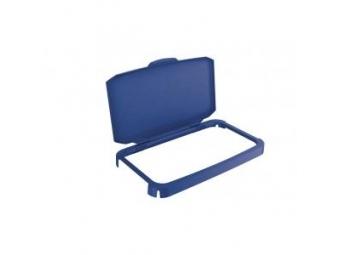 Durable Veko s rámom na plastový kôš DURABIN 60,modré