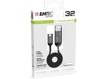 Emtec T750C 32GB Dual USB3.1 Type-C