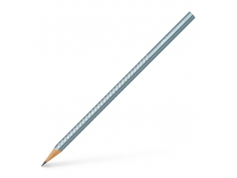 Faber-Castell Grip Sparkle Pastel ceruzka metalická modrá