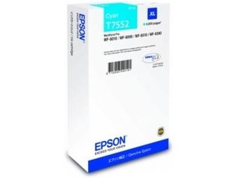 Epson T7552 Atramentová náplň Cyan XL