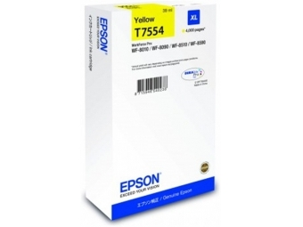 Epson T7554 Atramentová náplň Yellow XL