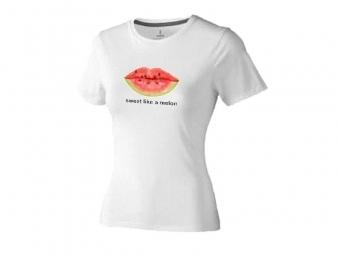 Tričko EXTRA s priamou potlačou, biele, bavlna
