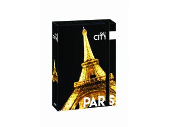 Box na zošity A4 s gumičkou, dizajn Jumbo Paríž