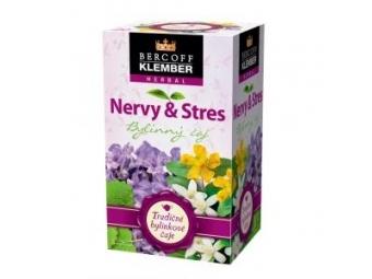 Klember Čaj bylinný nervy a stres 30g