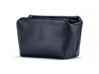 LEICA Soft leather pouch magnetic size S, mäkké kožené púzdro modré