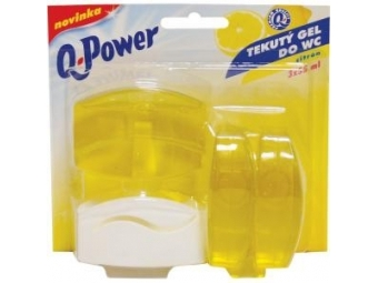 Q-Power WC závesný gél Citrón 3x55ml