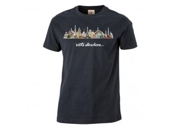 Tričko PREMIUM s priamou potlačou, farebné, bavlna