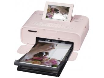 Canon Selphy CP-1300 ružová + RP-54 (54ks fotiek) -20€ CASHBACK