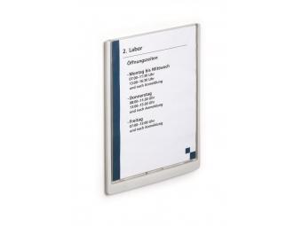 Durable Informačná tabuľka Click Sign 210x297mm biela