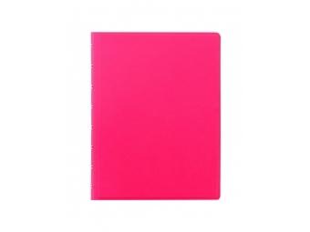 FiloFAX Notebook Saf.Fluoro,krúžk. pozn.blok s vymeniteľ.listami, A5 ružový